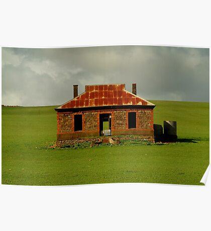 Passing Storm, Burra Ruins Poster