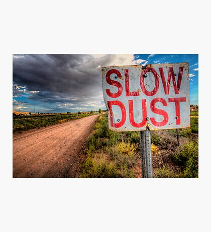Slow Dust Photographic Print
