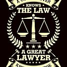 Savvy Turtle A Good Lawyer Knows The Law, Lawyer by SavvyTurtle