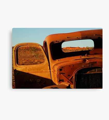 Historic Relic, Old Andado Station Canvas Print