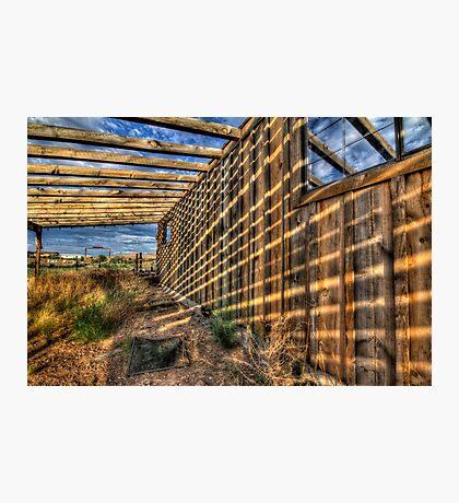Shadow Wall Photographic Print