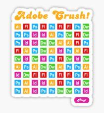 Adobe Crush! Sticker
