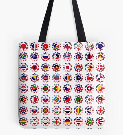 We Are America Multinational Patriot Flag Collective 2.0 Tote Bag