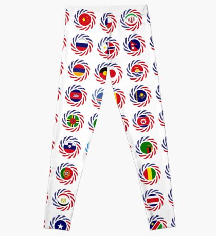We Are America Multinational Patriot Flag Collective 2.0 Leggings