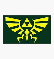 hyrule crest Photographic Print