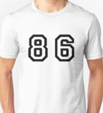 Number Eighty Six Unisex T-Shirt