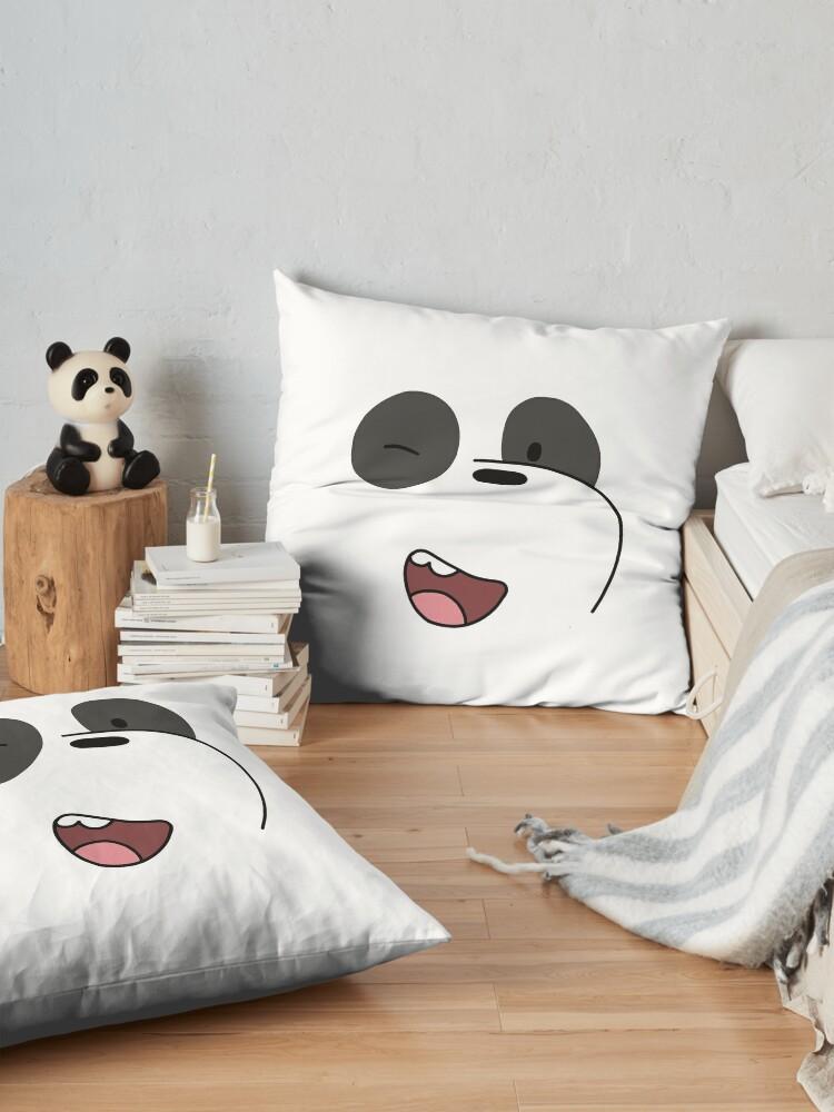 Alternate view of Panda - We Bare Bears  Floor Pillow