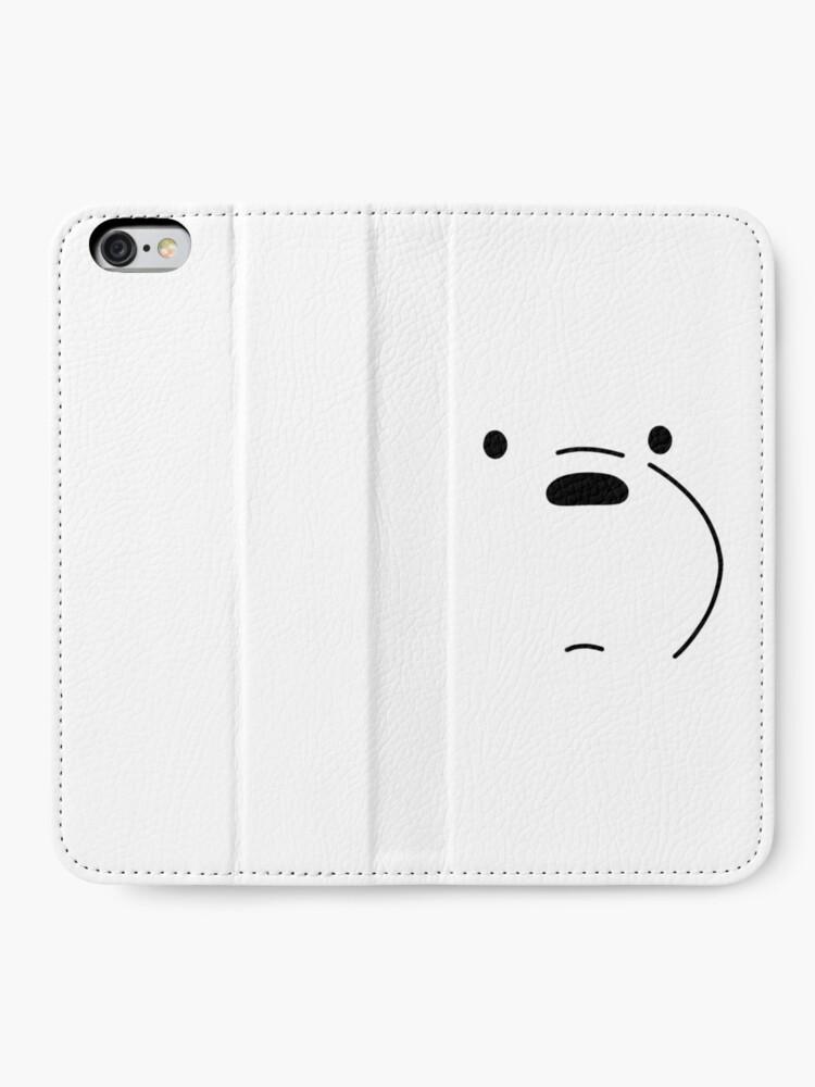 Alternate view of Polar Bear - We Bare Bears iPhone Wallet