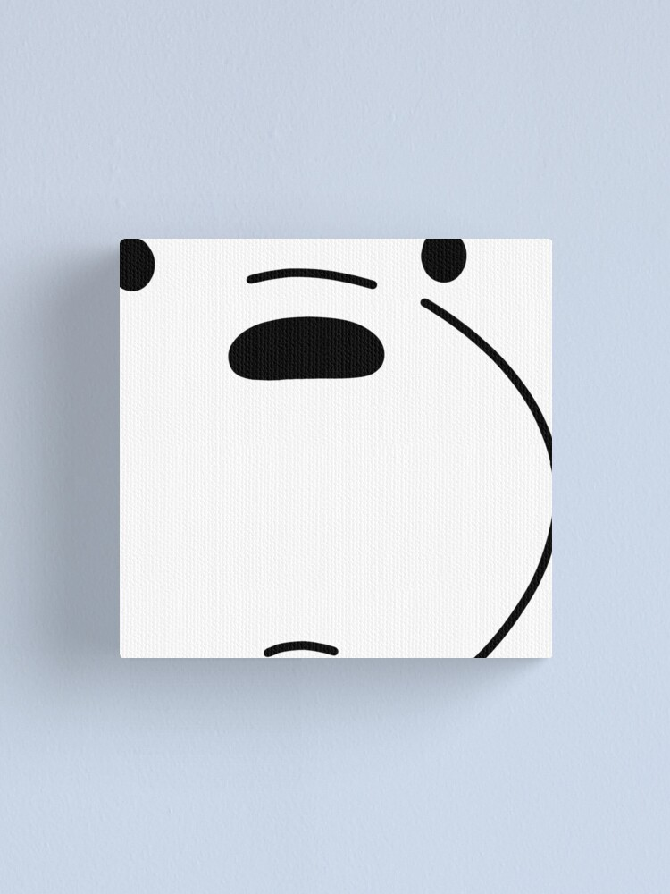 Alternate view of Polar Bear - We Bare Bears Canvas Print