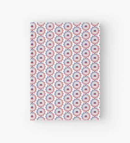 Libertarian Murican Patriot Flag Series Hardcover Journal