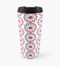 Libertarian Murican Patriot Flag Series Travel Mug