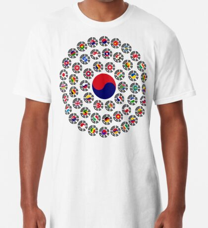 We Are Korea Multinational Patriot Flag Collective 1.0 Long T-Shirt