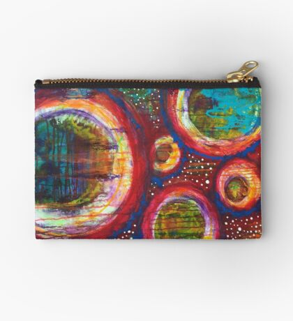 The Cosmic Key to Prosperity and Trust: Inner Power Painting Studio Pouch