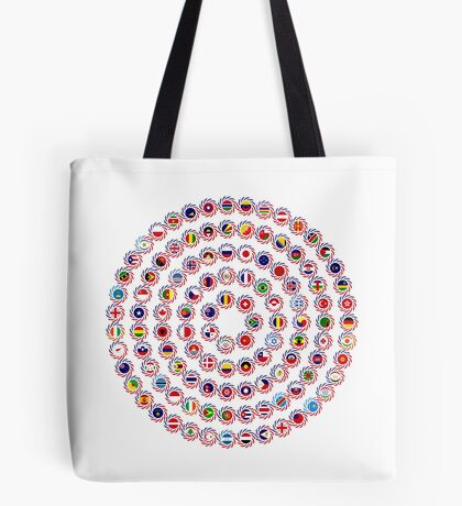 We Are America Multinational Patriot Flag Collective 1.0 Tote Bag