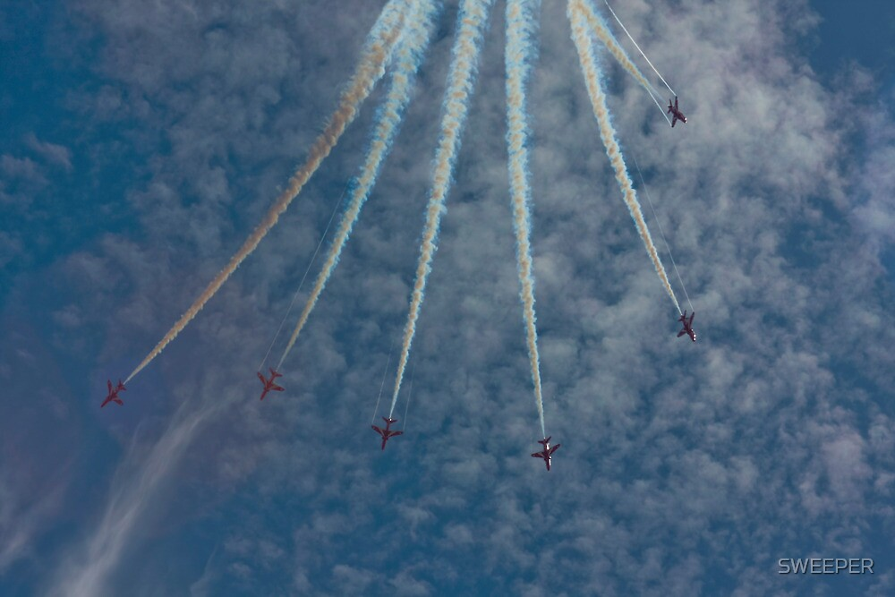 Red Arrows 2010 e by SWEEPER