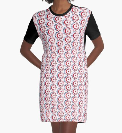 Muslim American Multinational Patriot Flag Series 1.0 Graphic T-Shirt Dress
