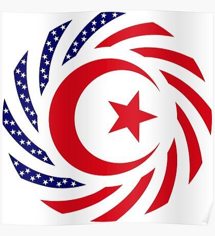 Muslim American Multinational Patriot Flag Series 1.0 Poster