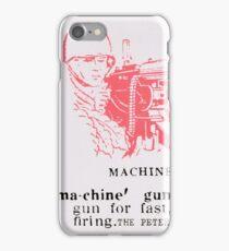 Machine Gun - The Peter Brötzmann Octet iPhone Case/Skin