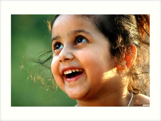A cheerful gaze..! by Amrit Ammu