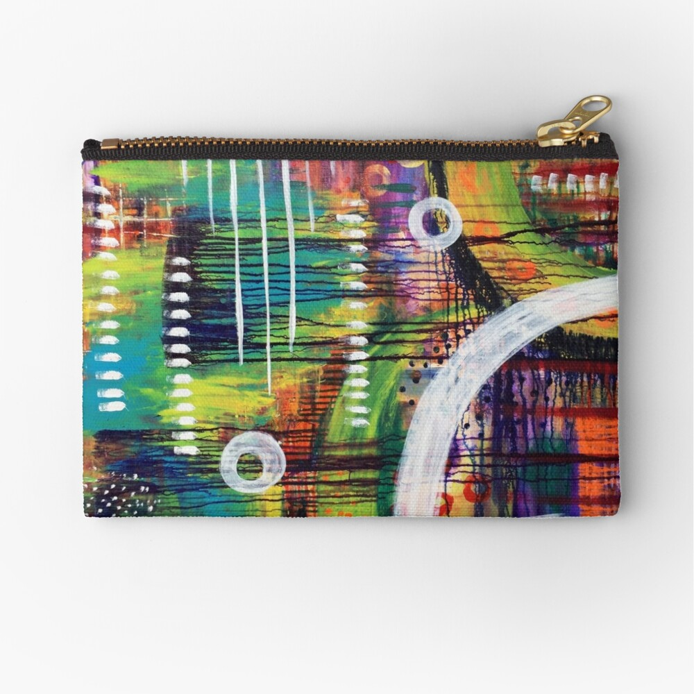 Guidance from the Self: Inner Power Painting Zipper Pouch