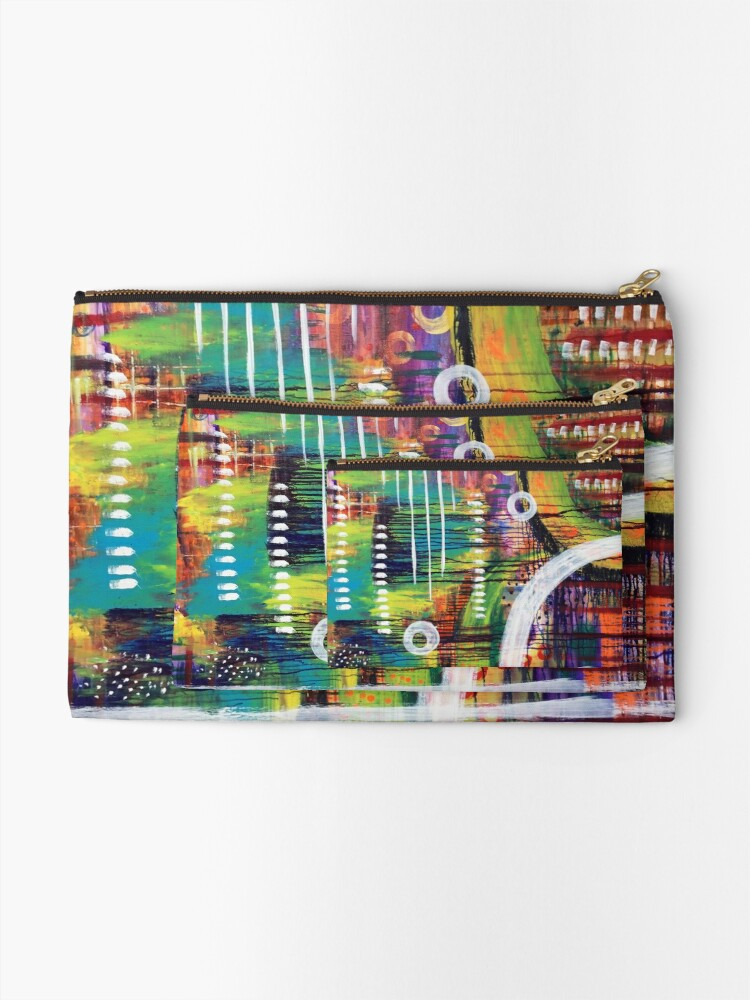 Alternate view of Guidance from the Self: Inner Power Painting Zipper Pouch