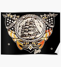 Tattoo Ship Poster