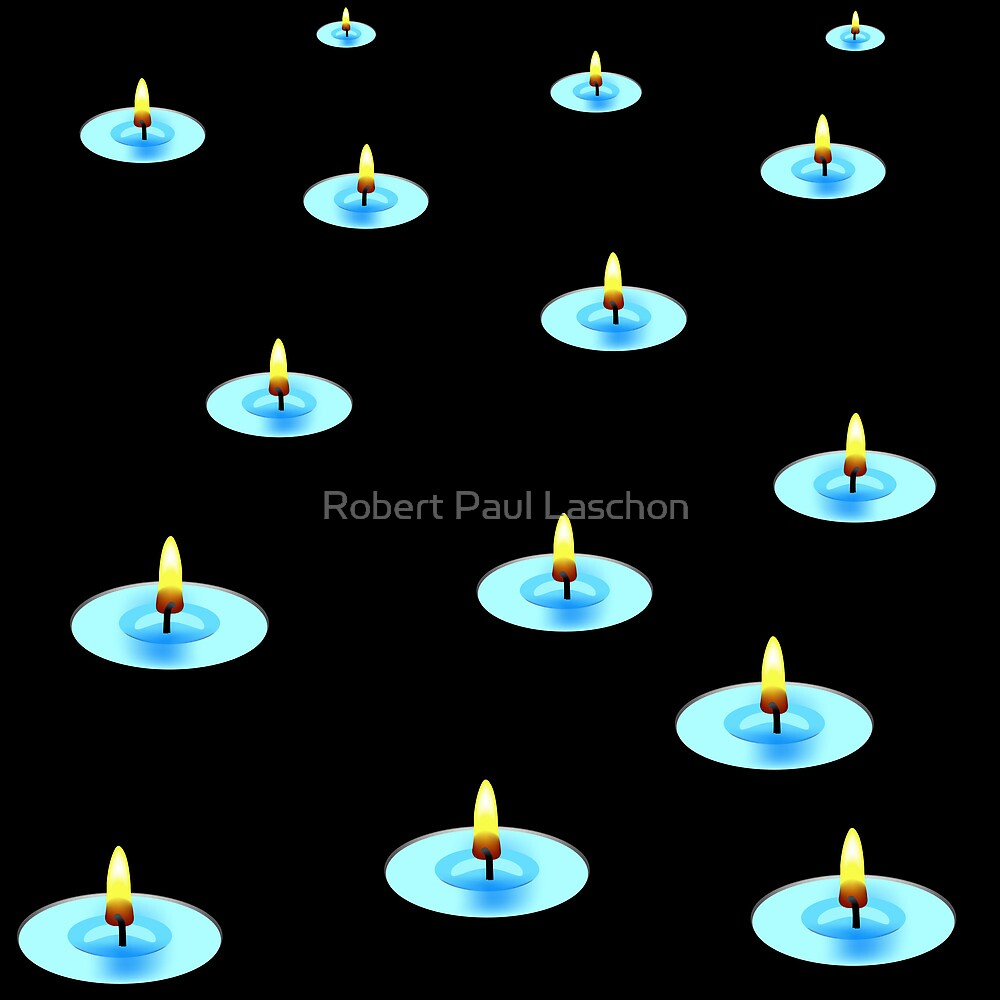 Candles in the dark by Laschon Robert Paul