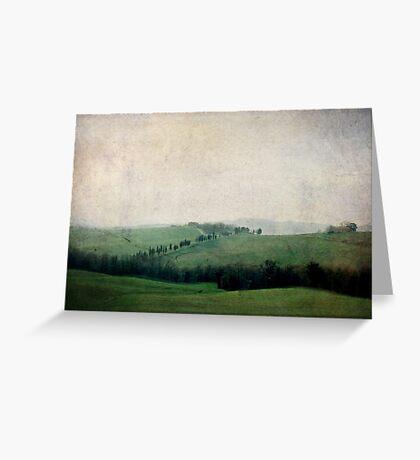 Toscana Vintage IV Greeting Card
