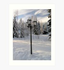 Narnia does exist Art Print