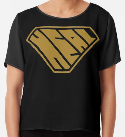 Heal SuperEmpowered (Gold) Chiffon Top