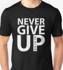 04190eee9c3 Never Give Up BLACKB T-Shirt worn by Mohamed Salah at Anfield T-Shirt