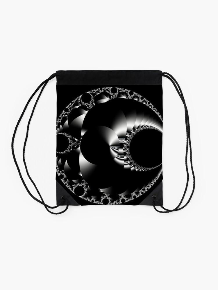 Alternate view of Mandelbrot 20190507-014 Drawstring Bag