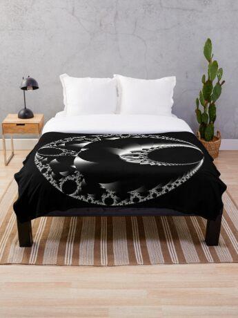 Mandelbrot 20190507-014 Throw Blanket