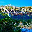 St Marys' Bridge in the Fall by Bryan D. Spellman