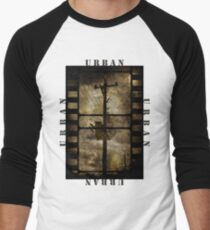 Urban T-shirt Men's Baseball ¾ T-Shirt