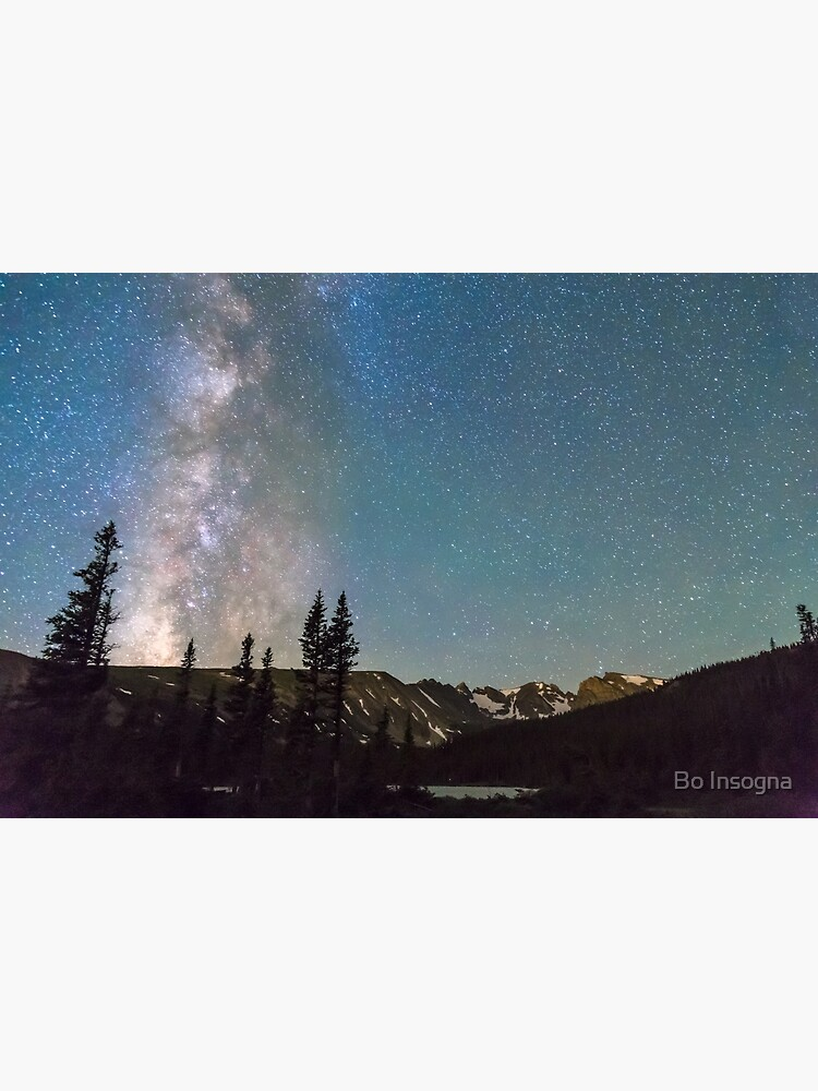 Middle of the Night Milky Way Rocky Mountains by mrbo