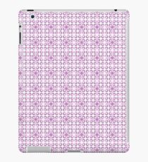 Purple seamless dots pattern  iPad Case/Skin