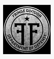Fringe Division Photographic Print