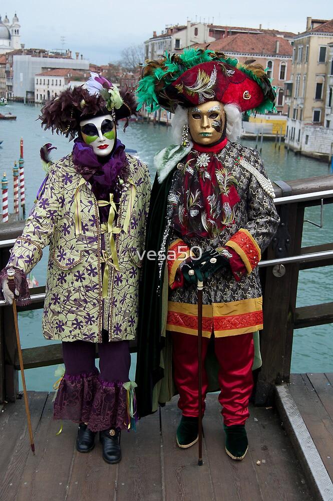 The masked couple by vesa50