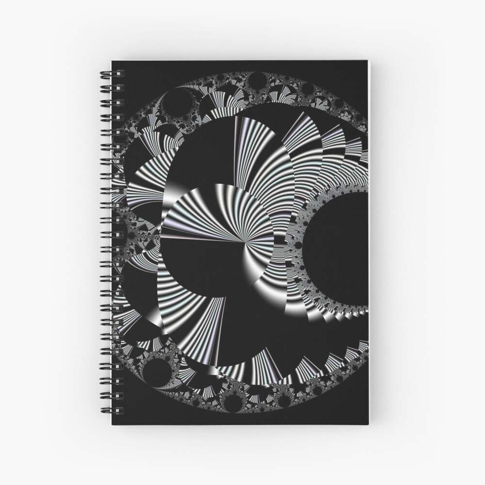 Mandelbrot 20190507-015 Spiral Notebook