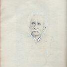 Grieg's Portrait by Pascale Baud