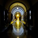 Hall Reflection by Bevellee