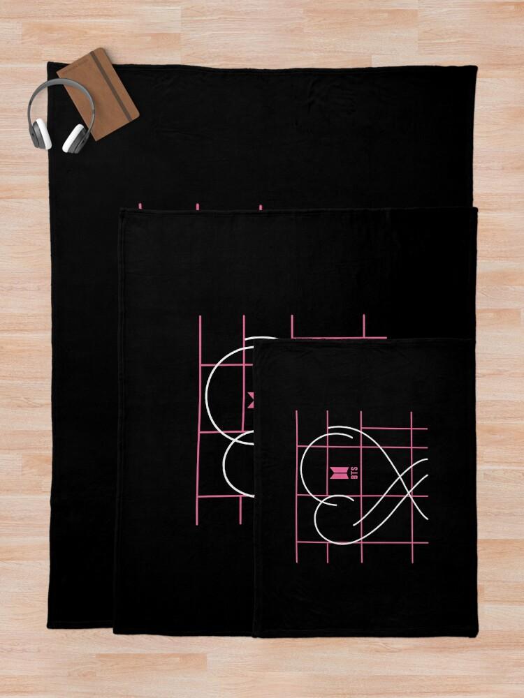 Alternate view of KPOP BTS MAP OF THE SOUL PERSONA LEGGING/ TSHIRT/ HOODIE/ CASE/ MUG/ BAG Throw Blanket