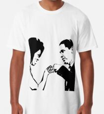 RESIST: Obama Fist Bump Long T-Shirt