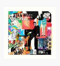 Noch immer wackelige Albumkunst Kunstdruck