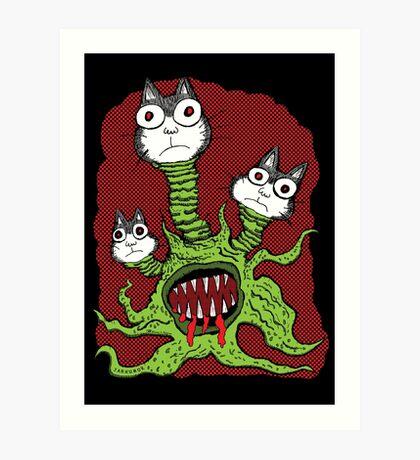 Kitty Monster Lámina artística