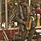 Horn Man by AlbertStewart