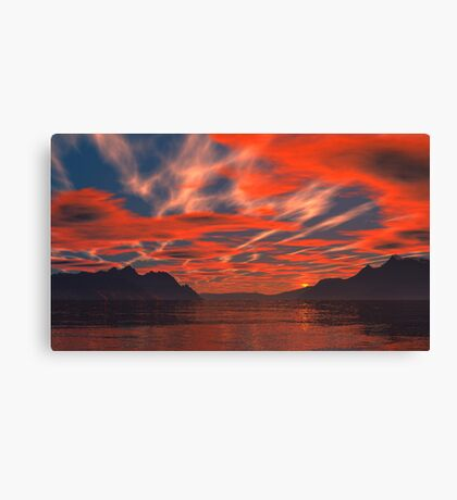 Strange Skies Canvas Print
