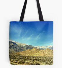 """""""Eastern Sierras"""" Tote Bag"""