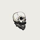 Skull with a Beard by Chocodole